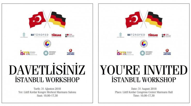 YOU ARE INVITED TO ISTANBUL WORKSHOP 2018