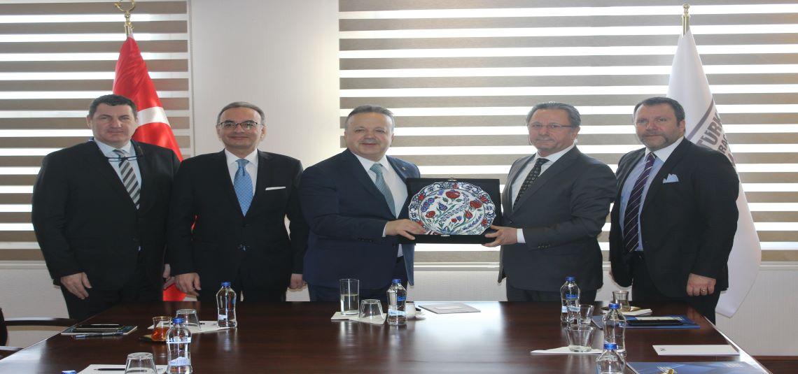 ISTTA'dan, TİM Başkanı İsmail Gülle'ye ziyaret